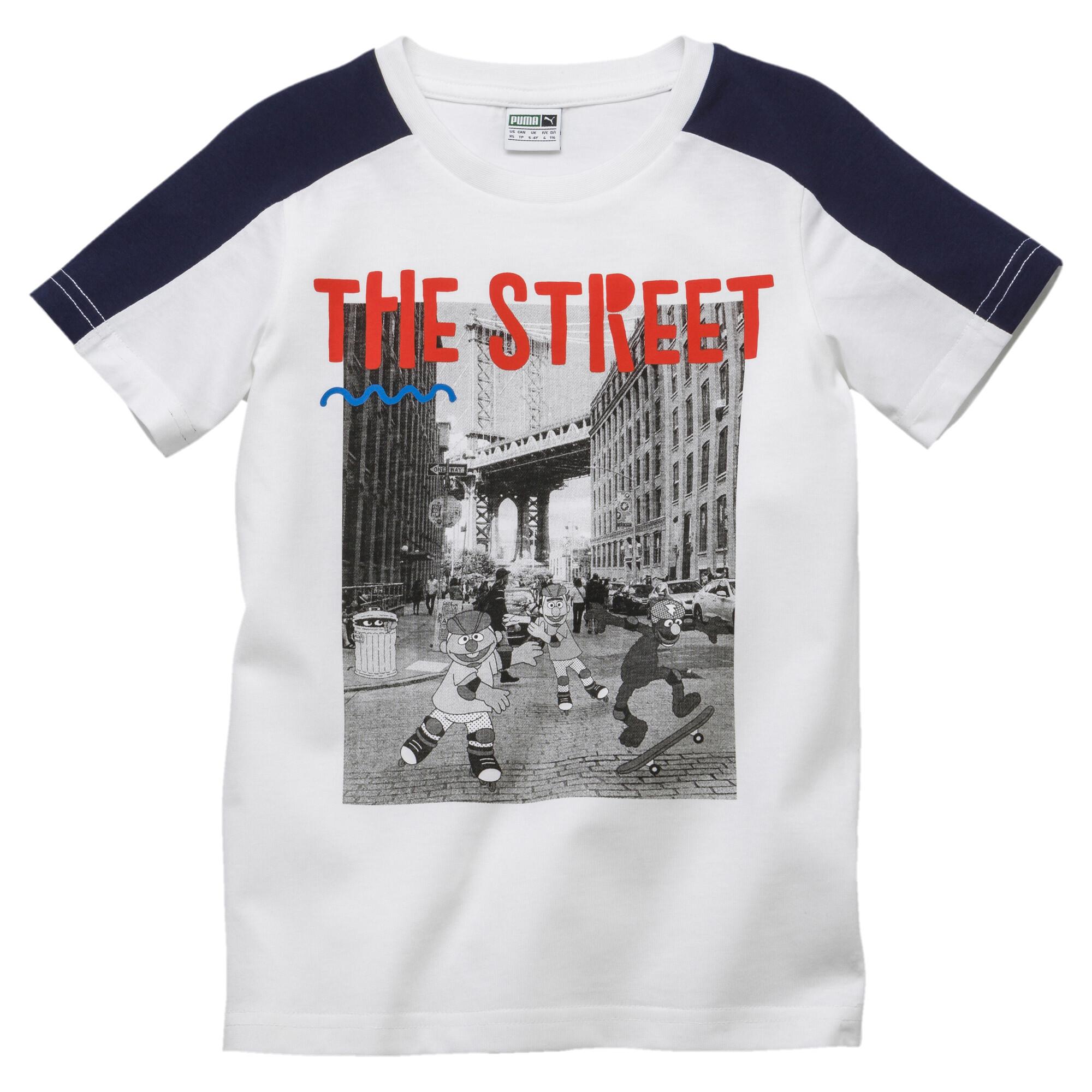 Image Puma PUMA x SESAME STREET Boys' Tee #1