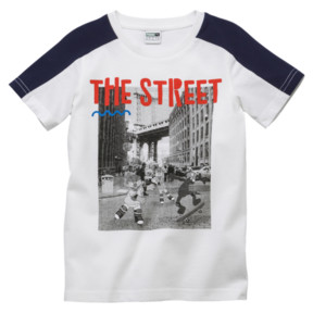 Thumbnail 1 of PUMA x SESAME STREET Boys' Tee, Puma White, medium