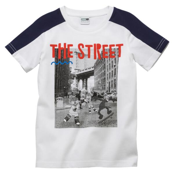 PUMA x SESAME STREET Boys' Tee, Puma White, large