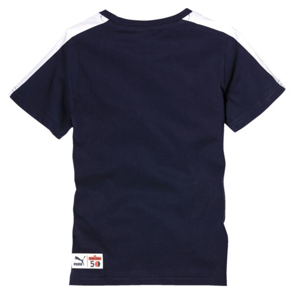 PUMA x SESAMSTRASSE Jungen T-Shirt, Peacoat, large
