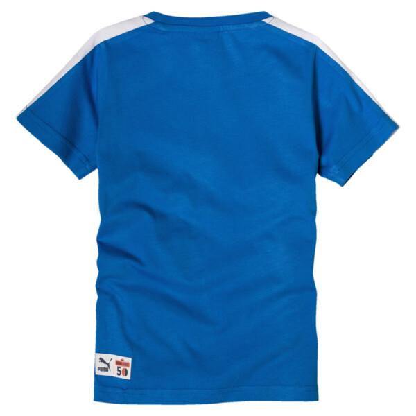 PUMA x SESAME STREET T-shirt voor jongens, Indigo Bunting, large