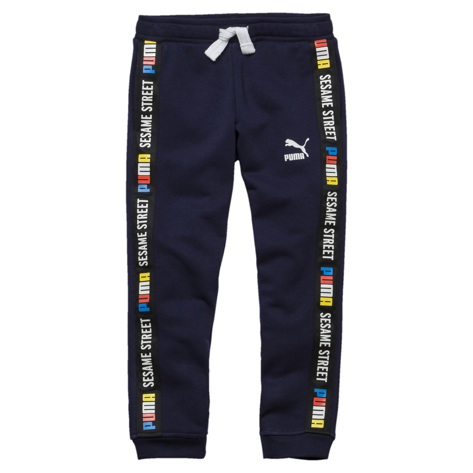 Image Puma PUMA x SESAME STREET Knitted Boys' Pants #1