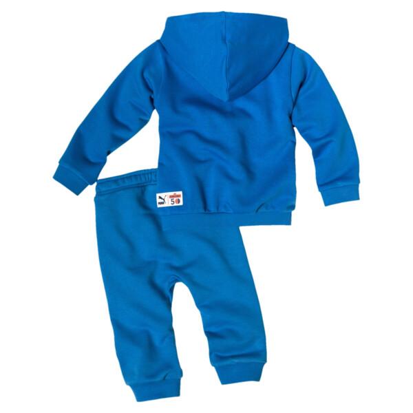 Sesame Street Hooded Baby Boys' Track Suit, Indigo Bunting, large