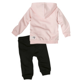 Thumbnail 2 of PUMA x SESAME STREET Infant + Toddler Sweatsuit Set, Veiled Rose, medium