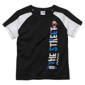 Thumbnail 1 of T-Shirt Rue Sésame pour fille, Cotton Black, medium