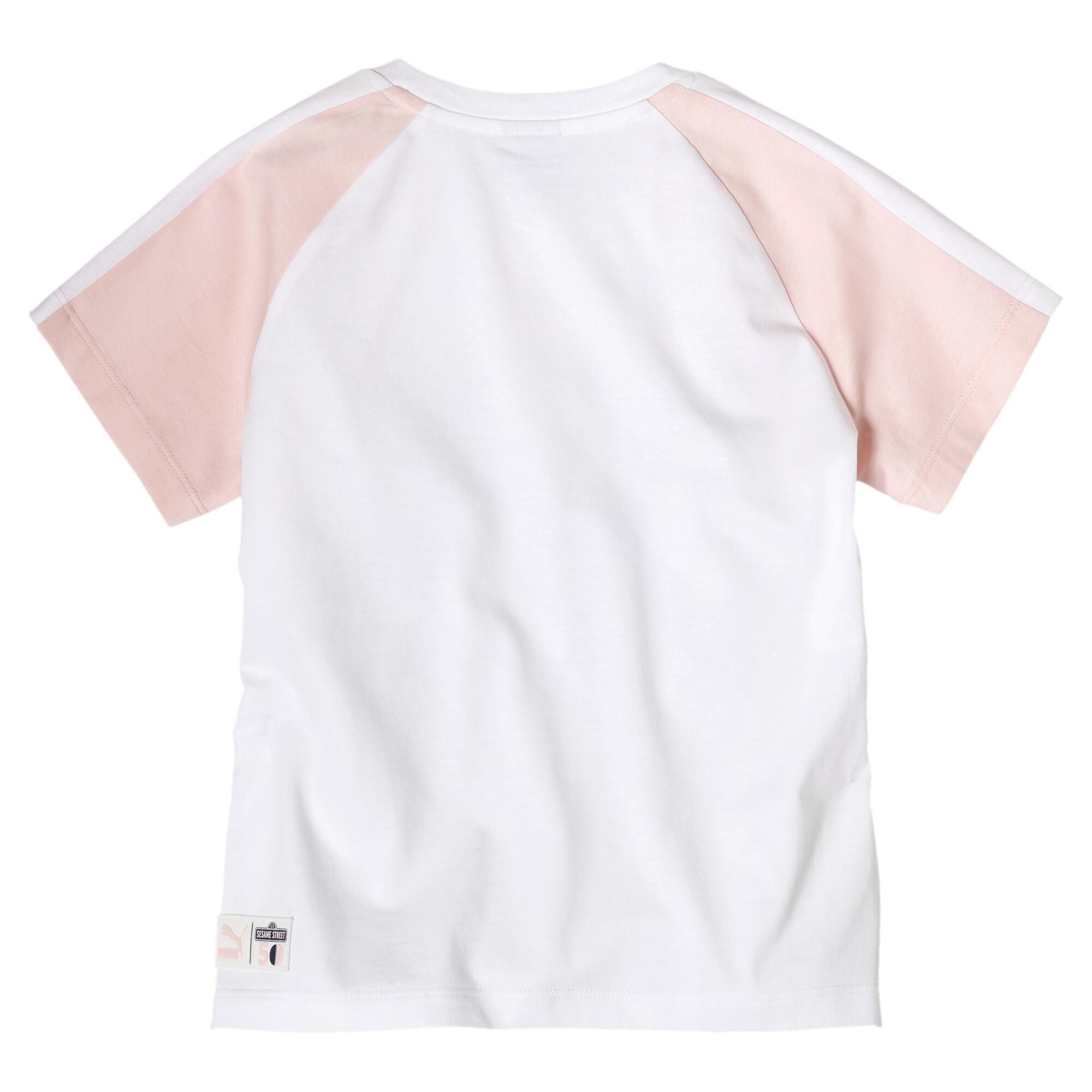 Image Puma PUMA x SESAME STREET Short Sleeve Girls' Tee #2