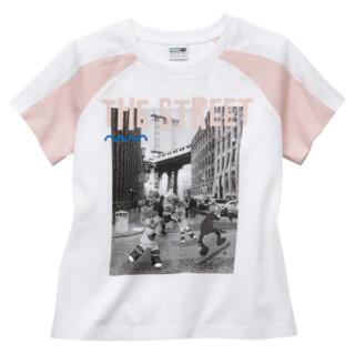 Image Puma PUMA x SESAME STREET Short Sleeve Girls' Tee