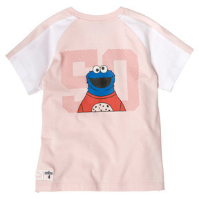 Thumbnail 2 of Sesame Street Short Sleeve Girls' Tee, Veiled Rose, medium
