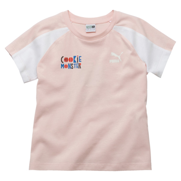 T-Shirt Rue Sésame pour fille, Veiled Rose, large