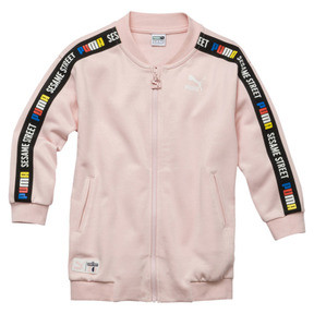 Thumbnail 1 of Sesame Street Girls' Jacket, Veiled Rose, medium