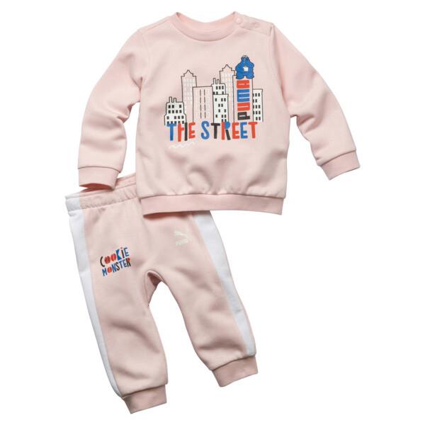 Sesame Street joggingbroek voor baby's, Versluierde roos, large