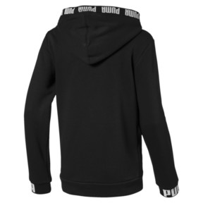 Thumbnail 2 of Amplified Boys' Hooded Jacket, Cotton Black, medium