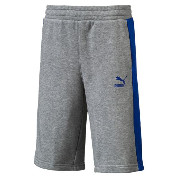 Classics Boys' Shorts JR, Medium Gray Heather, large