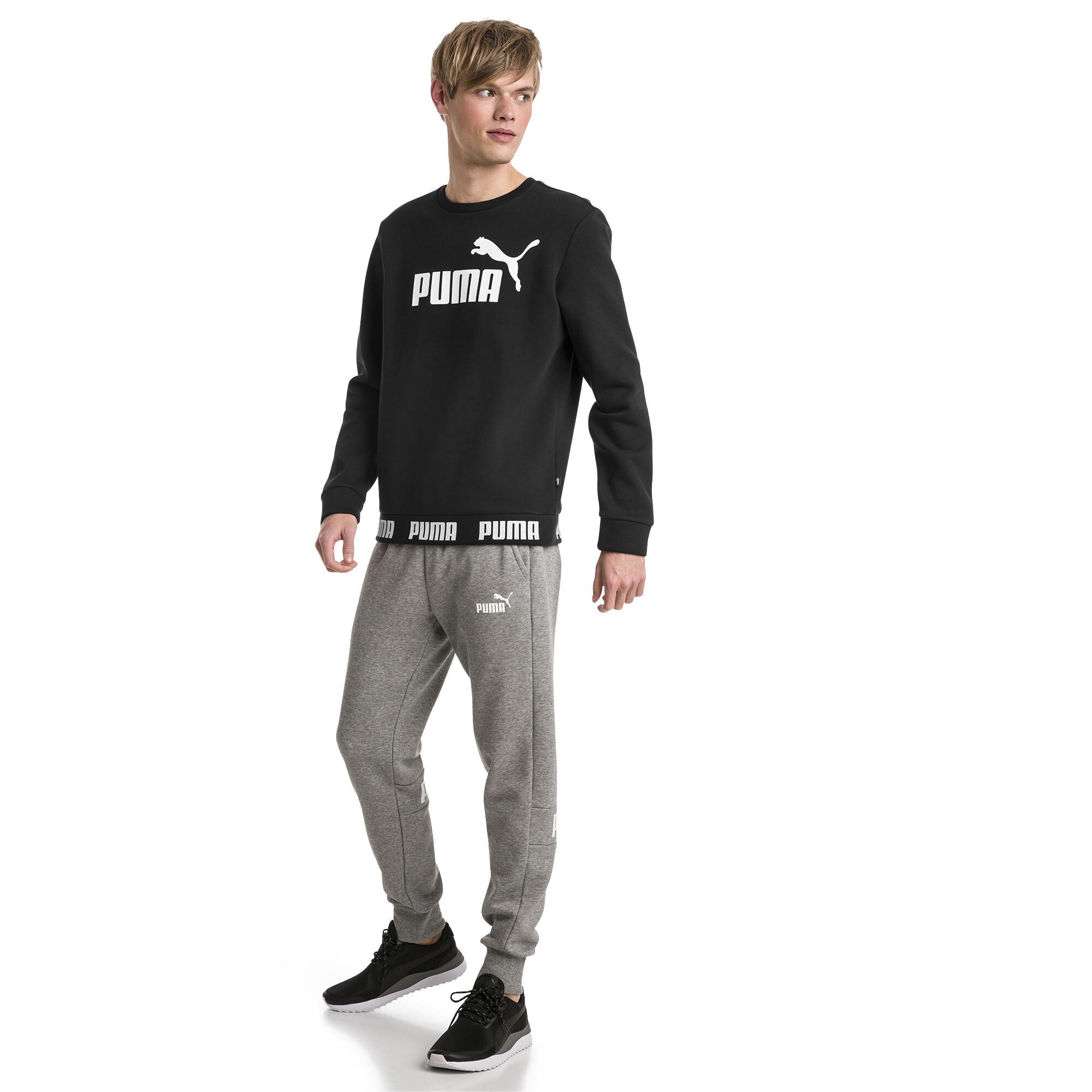 Image Puma Amplified Fleece Men's Sweater #3