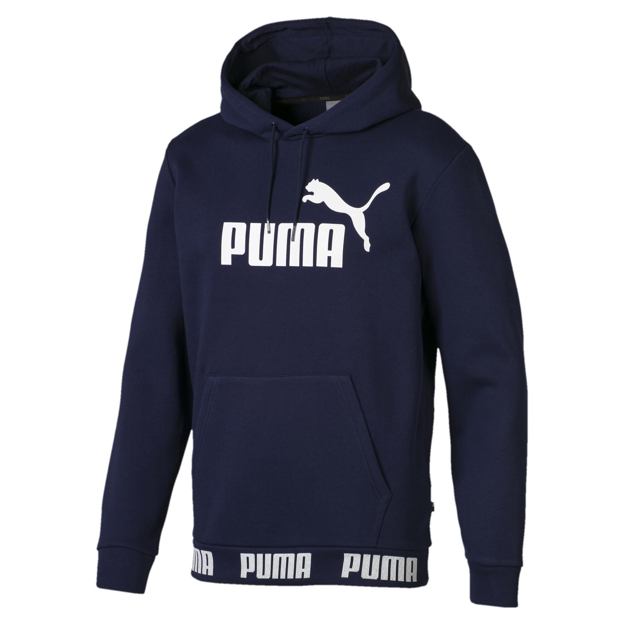 Image Puma Amplified Men's Fleece Hoodie #1