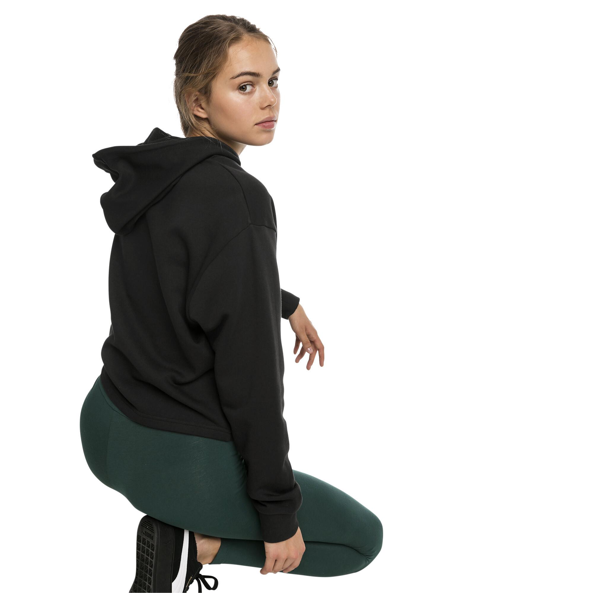 Image Puma Essentials+ Cropped Women's Hoodie #2