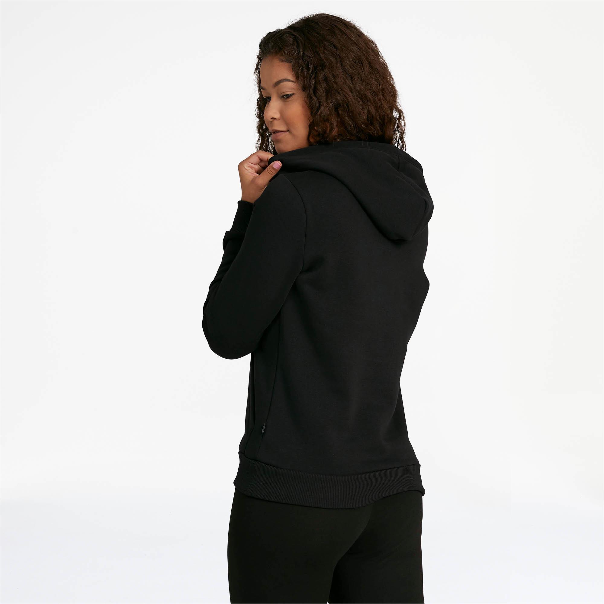 PUMA-Essentials-Women-039-s-Cropped-Hoodie-Women-Sweat-Basics thumbnail 9