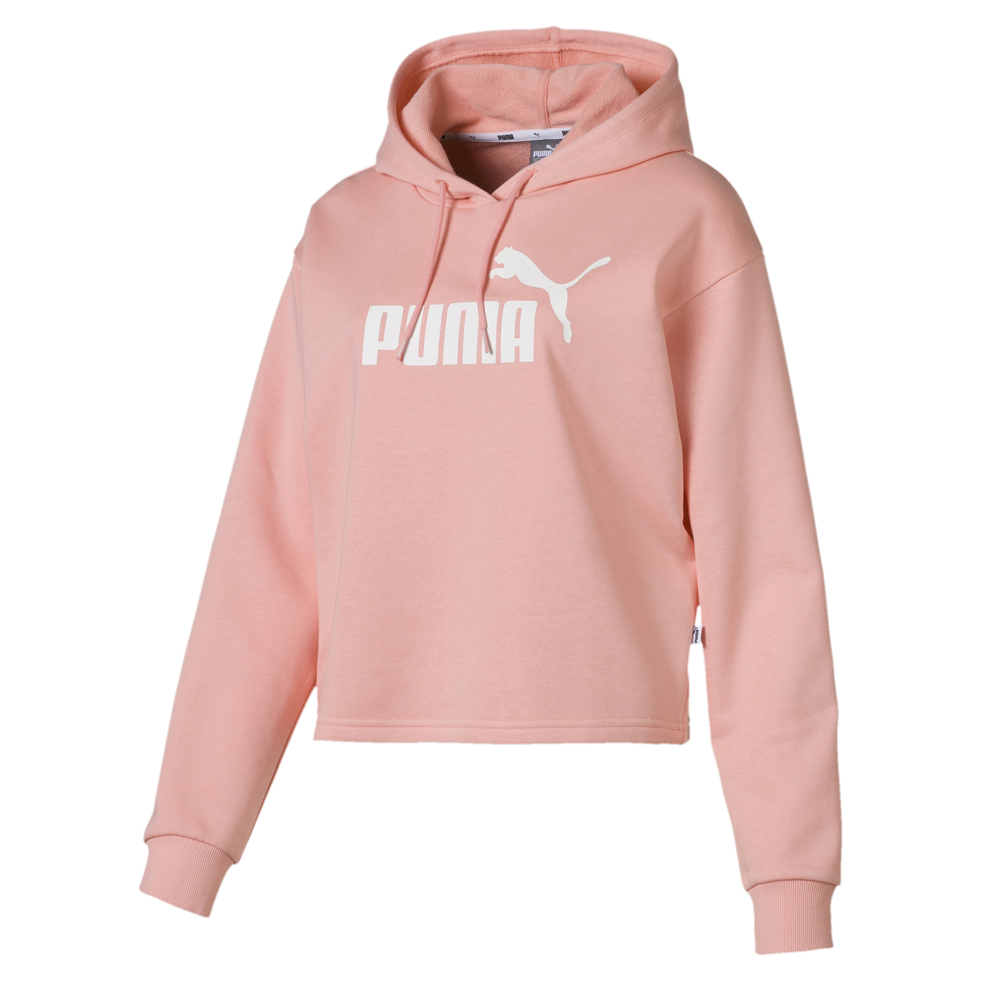 Image Puma Essentials+ Cropped Women's Hoodie #1