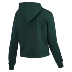 Thumbnail 5 of Essentials+ Cropped Women's Hoodie, Ponderosa Pine, medium