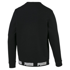Thumbnail 5 of Amplified Men's Sweater, Cotton Black, medium