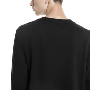 Thumbnail 2 of Amplified Men's Sweater, Cotton Black, medium