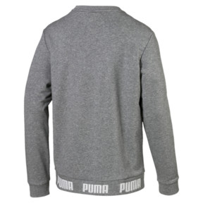 Thumbnail 5 of Amplified Men's Sweater, Medium Gray Heather, medium
