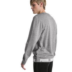 Thumbnail 2 of Amplified Men's Sweater, Medium Gray Heather, medium