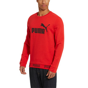 Thumbnail 2 of Amplified Crew Sweat, High Risk Red, medium