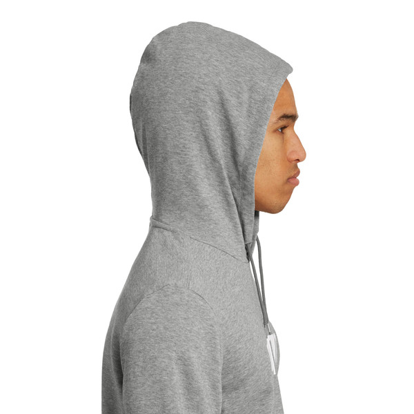 Amplified Men's Hoodie, Medium Gray Heather, large