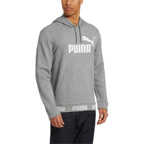 Thumbnail 2 of Amplified Men's Hoodie, Medium Gray Heather, medium