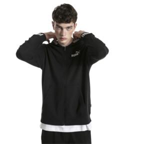 Imagen en miniatura 1 de Chaqueta deportiva con capucha de hombre Amplified, Cotton Black, mediana