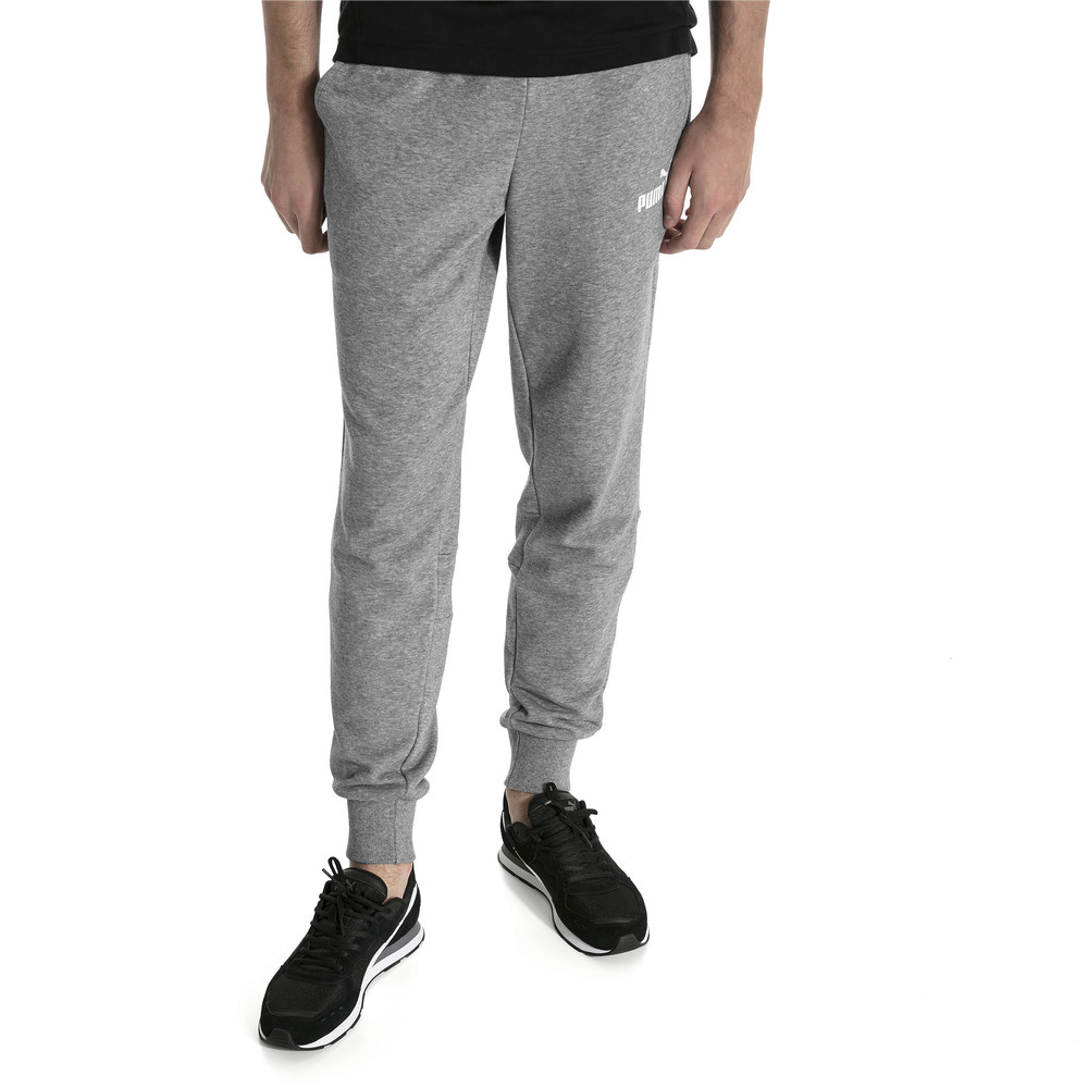 f177a43dd621cb Amplified Men's Sweat Pants | 30 - Gray | Puma