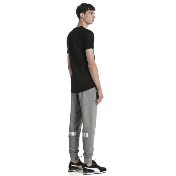 Amplified Men's Sweatpants, Medium Gray Heather, large