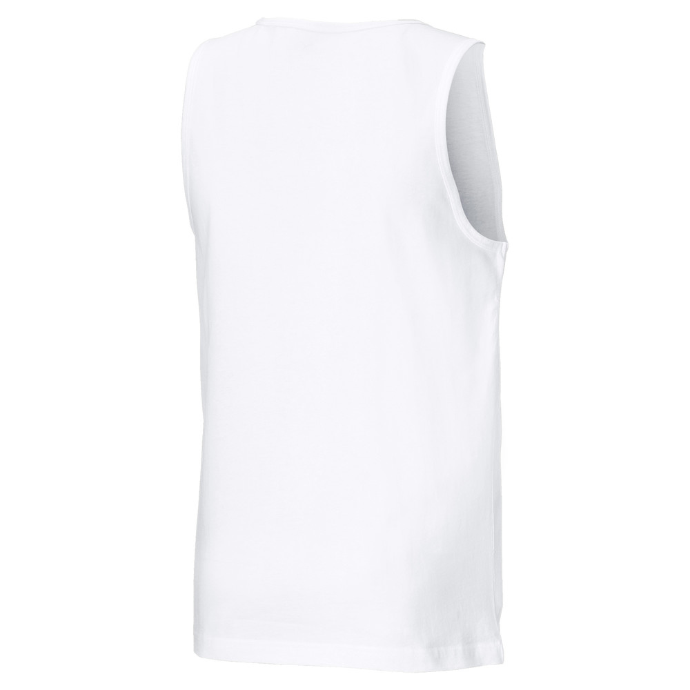 PUMA - male - Топ Essentials Men' Tank Top – Puma White –, Белый