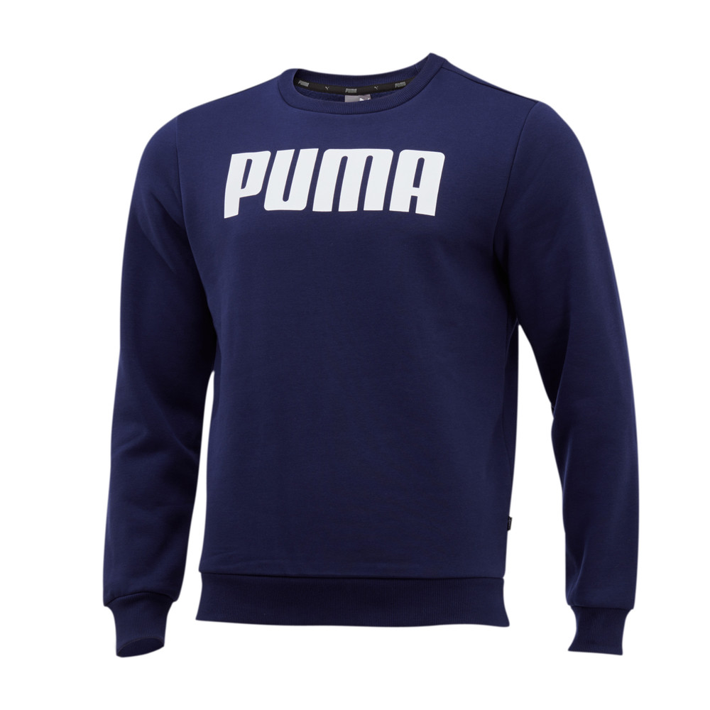 Image PUMA Essentials Fleece Crew Neck Men's Sweater #1