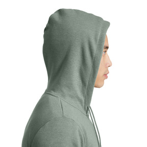 Thumbnail 3 of Essential + Full-Zip Hoodie, Laurel Wreath Heather, medium