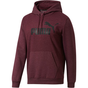Thumbnail 1 of Essential Fleece Hoodie, Fig Heather, medium