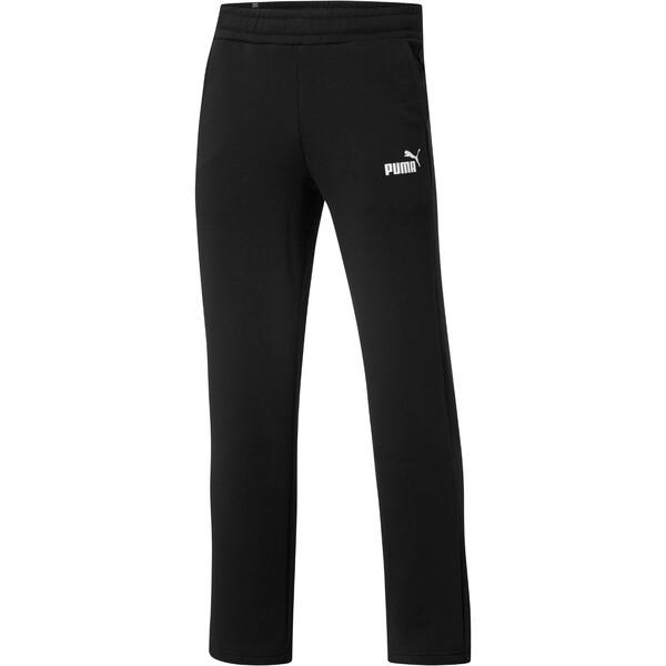 Eseential Logo Full-Length Pants, Puma Black, large