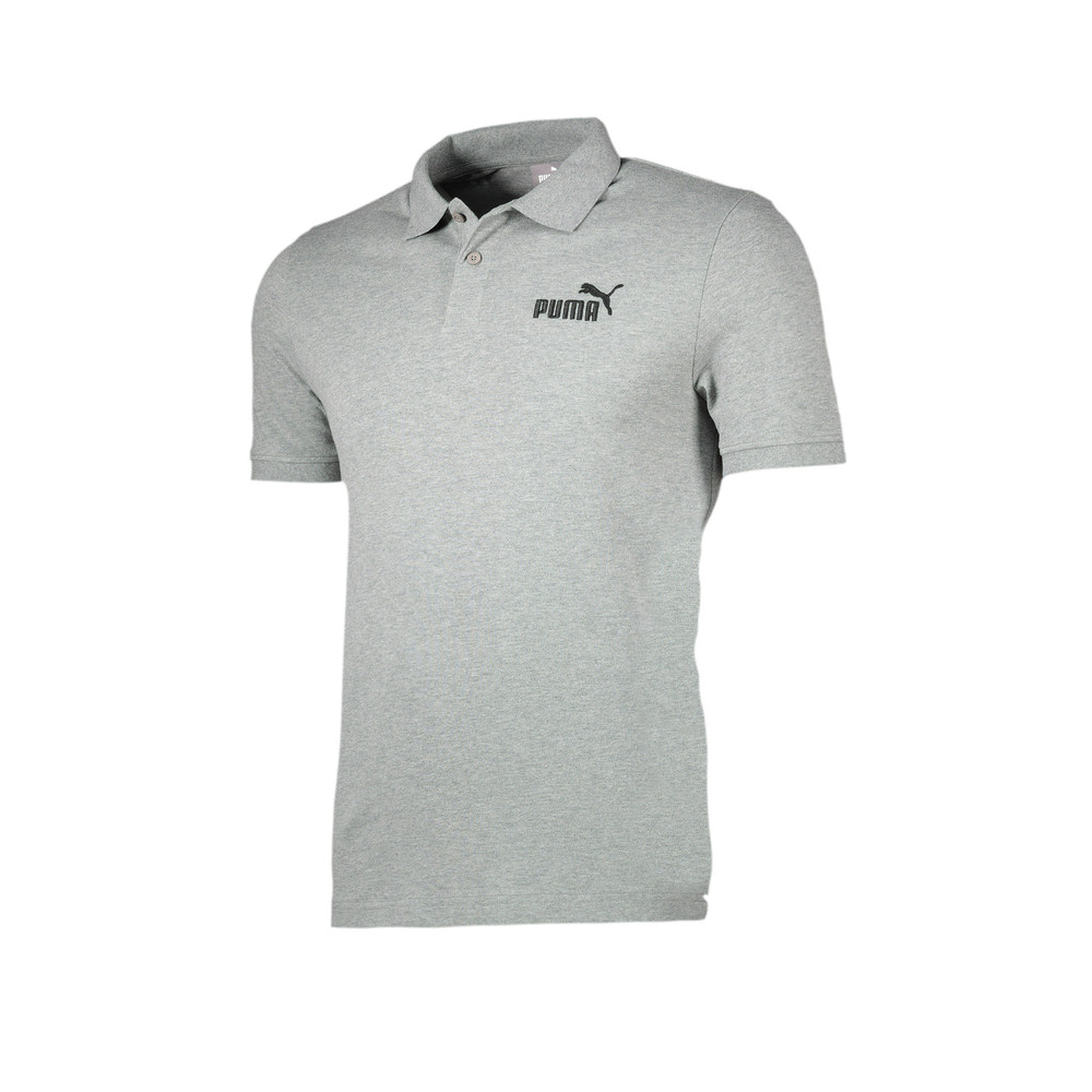 Image Puma Essential Short Sleeve Men's Polo Shirt #1