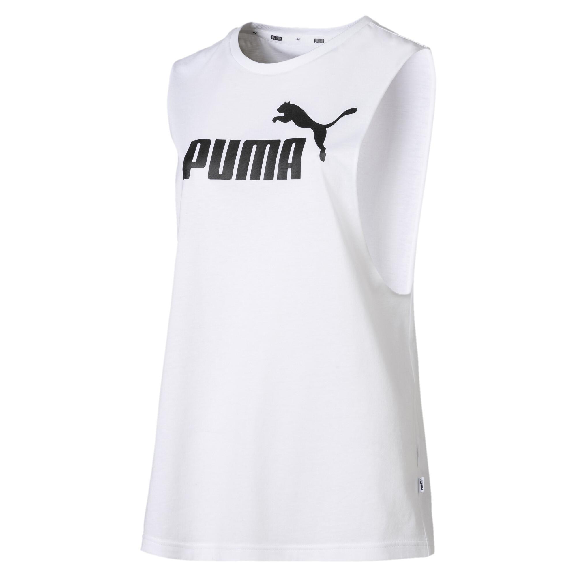 Image Puma Essentials+ Cut Off Women's Tank Top #4