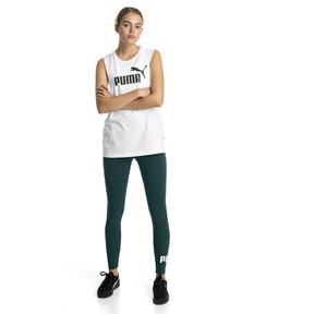 Thumbnail 3 of Essentials+ Cut Off Women's Tank Top, Puma White, medium