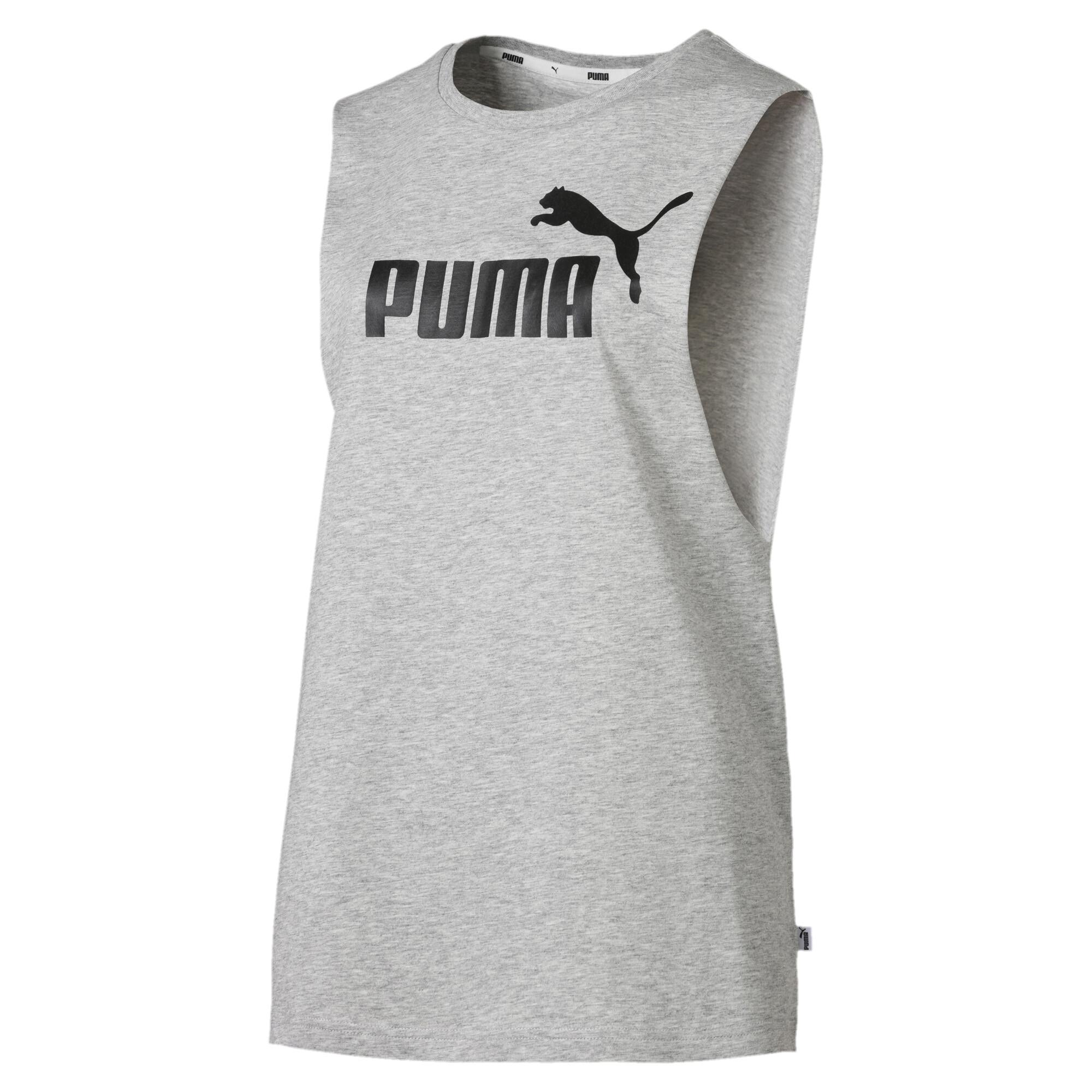 Image Puma Essentials+ Cut Off Women's Tank Top #1