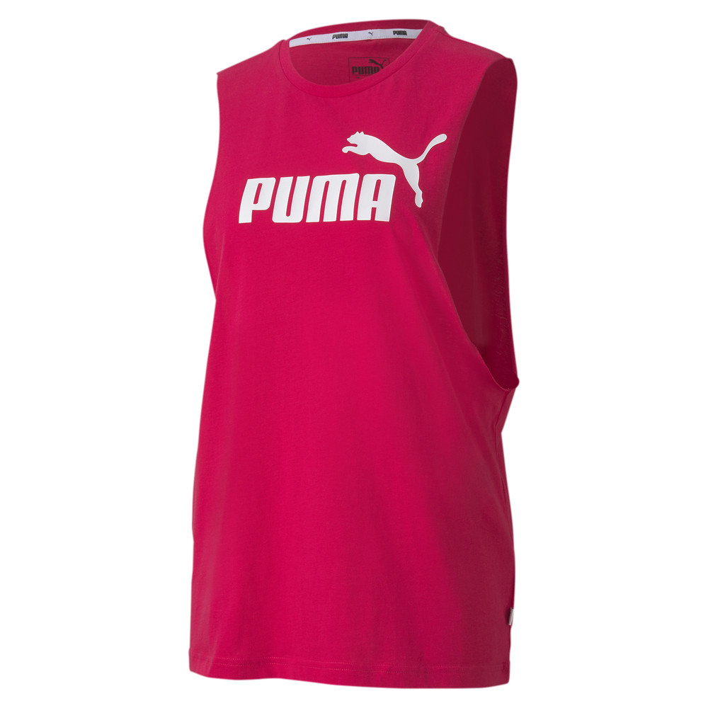 Image PUMA Essentials+ Cut Off Women's Tank Top #1