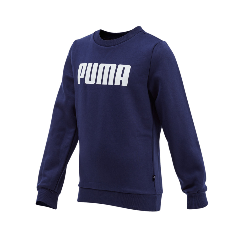 Image PUMA Essential Boys' Crew Fleece Sweatshirt #1