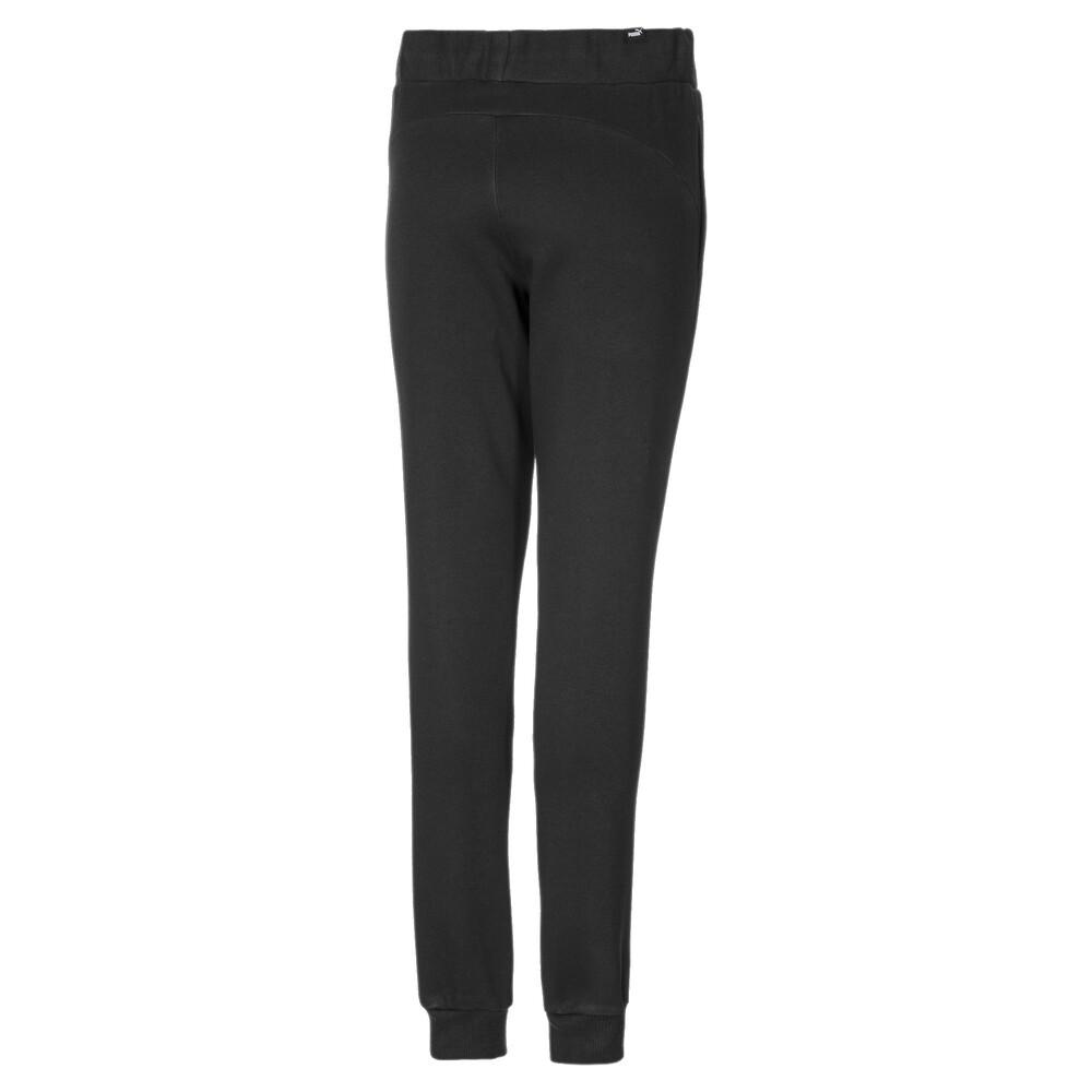 Image PUMA Essentials Cuffed Fleece Girls' Sweatpants #2