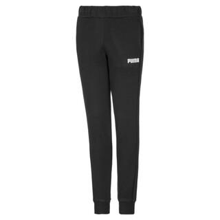 Image PUMA Essentials Cuffed Fleece Girls' Sweatpants