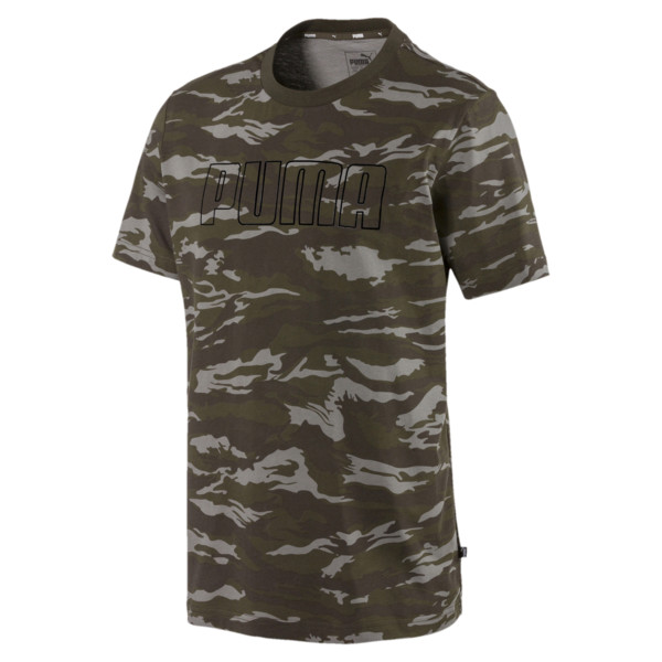 Camo AOP T-Shirt, Forest Night, large