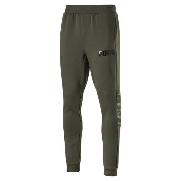 Men's Camo Sweatpants, Forest Night, large