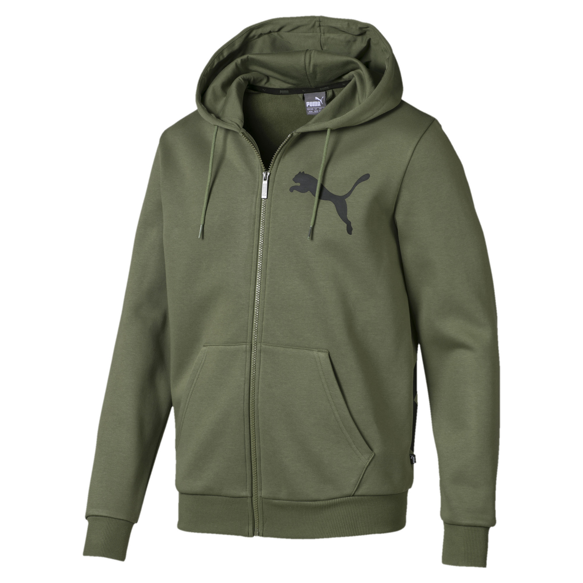 Image Puma Big Logo Hooded Men's Jacket #1