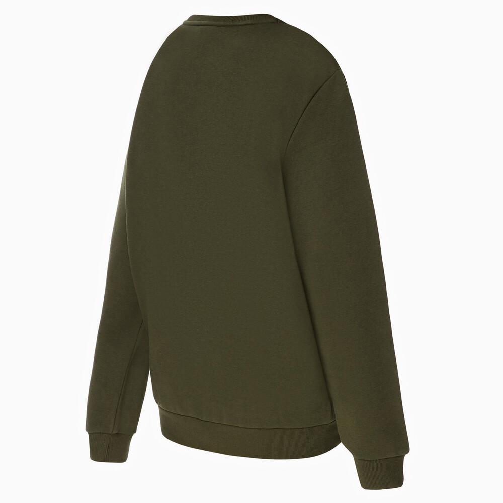 PUMA - male - Толстовка Essentials Fleece Sweat – Forest Night –, Зеленый